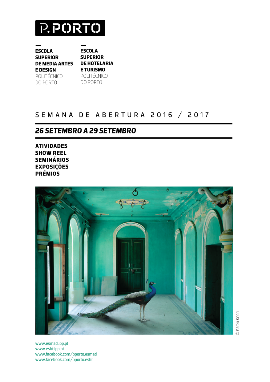 Semana de receção ao estudante - 2016/2017 - capa