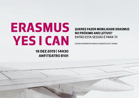 ERASMUS YES I CAN