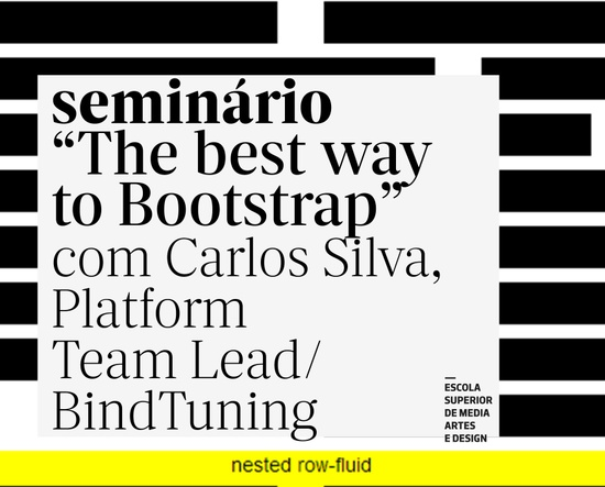 "Seminário ""The best way to Bootstrap"""