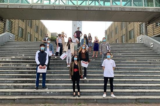 Sessão encerramento | Estudantes em mobilidade internacional