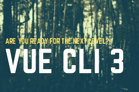 """Seminário """"Vue CLI 3"""""""